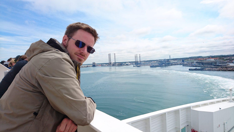 Von Hirtshals in Dänemark bringt uns die Fähre in dreieinhalb Stunden nach Larvik in Norwegen.
