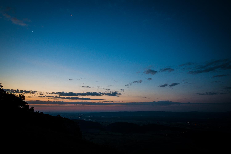 Kurz vor Sonnenaufgang: Hier lassen sich nachts auch wunderbar Sterne fotografieren.