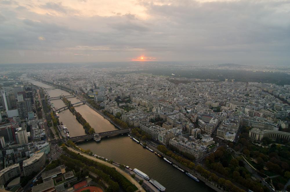 Je suis une baguette – Paris im Herbst