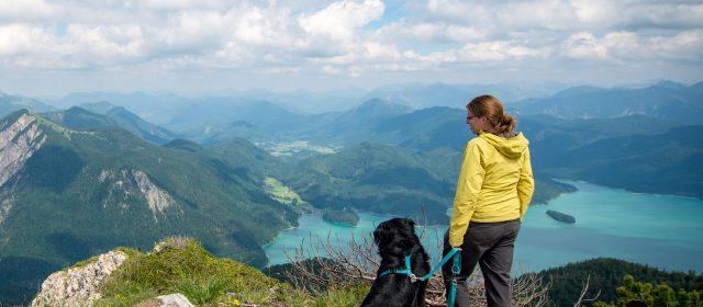 Flachlandkinder auf Bergtour