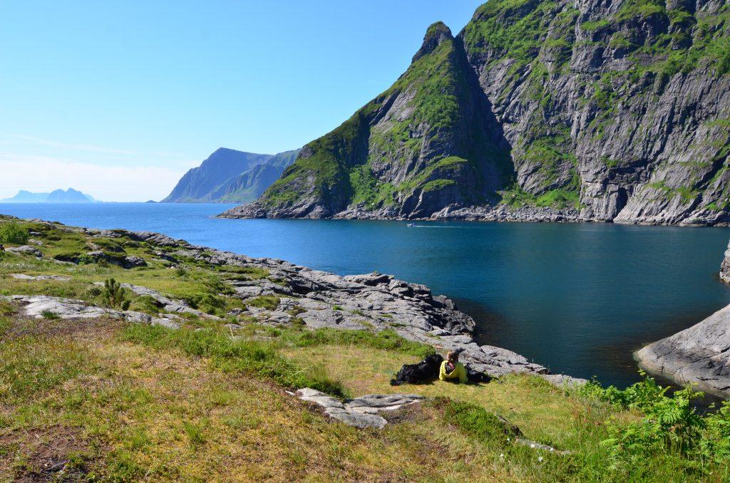 Der südlichste Zipfel der Insel: Entspannung in Å.