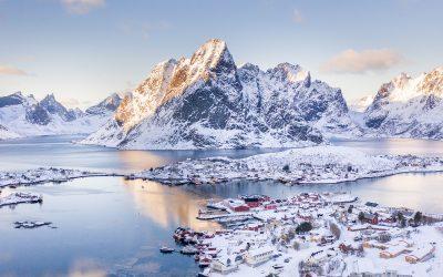 3 1/2 leichte Wandertouren auf den Lofoten – im Winter