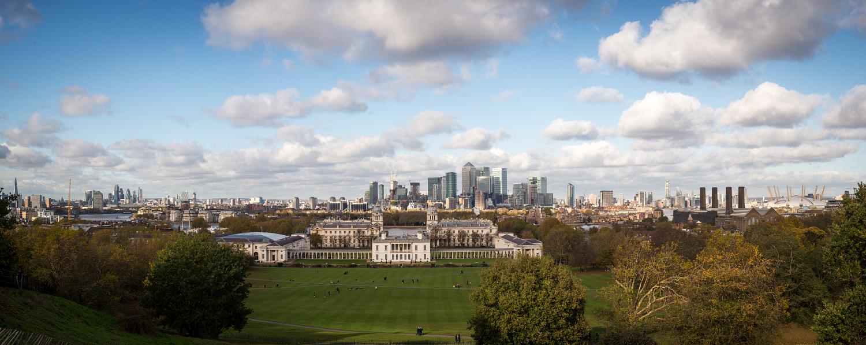 Greenwich Park im November.