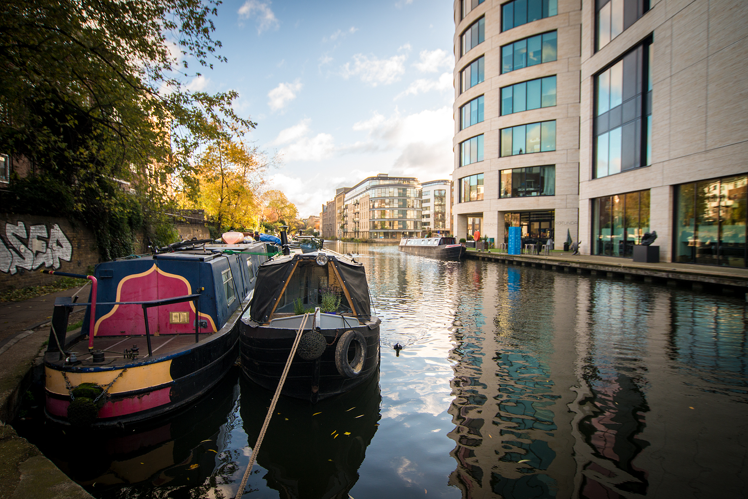 Der Regent's Canal in London