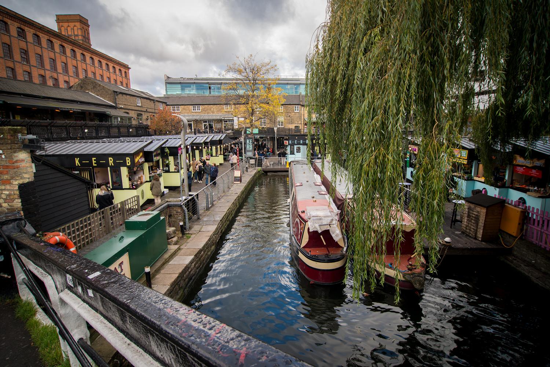 Ausblick auf Camden Market