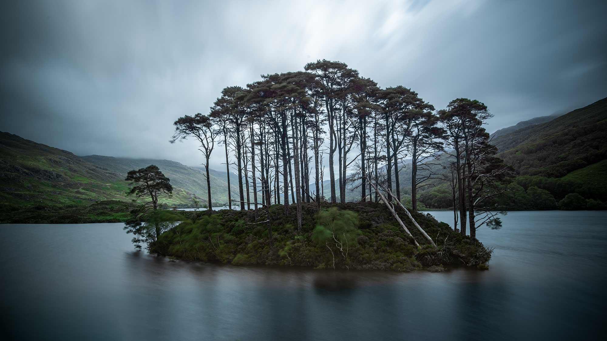 Die Insel im Loch Eilt kommt auch in den Harry-Potter-Filmen vor - als Ruheort für Albus Dumbledor.