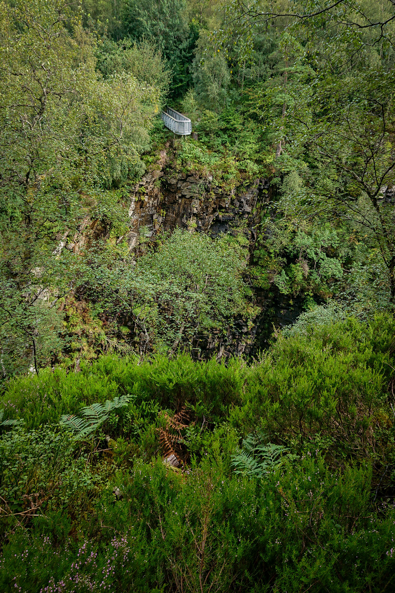 Aussichtsplattform Corrieshalloch Gorge