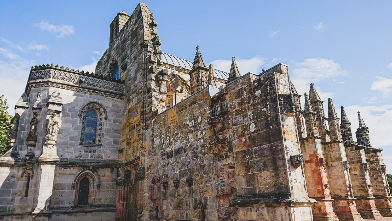 Rosslyn Chapel bei Edinburgh