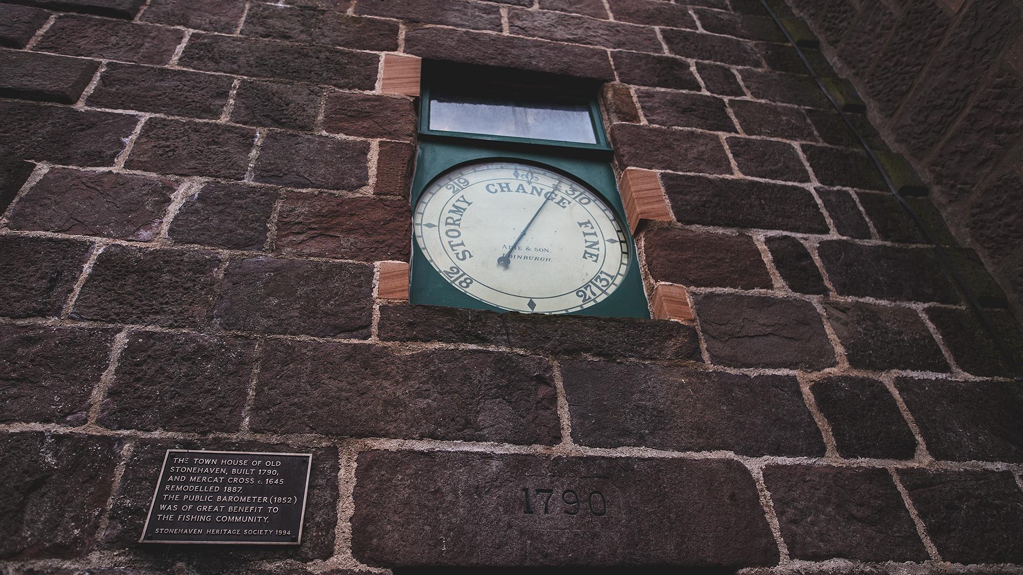 Der Uhrenturm von Stonehaven