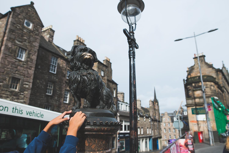 Die Statue von Greyfriars Bobby