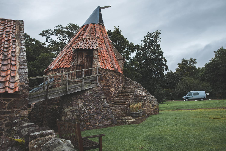 Die Prestom Mill bei Dunbar