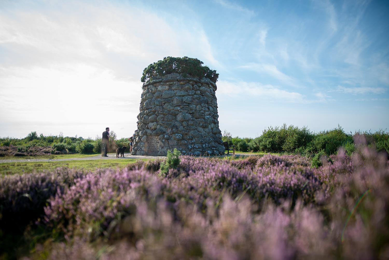 Gedenk-Memorial in Culloden