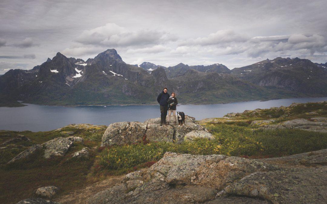 Mit Hund und Kind: Elternzeitreise ans Nordkapp