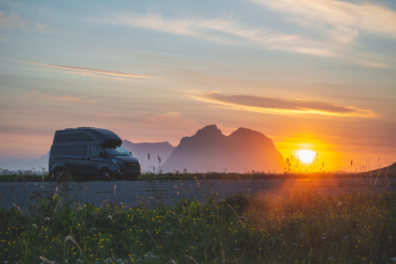 Sonnenaufgang in Nordland